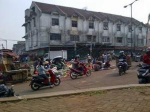 Pasar tradisional di kota bekasi