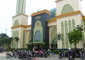 masjid agung al-barkah di kota bekasi